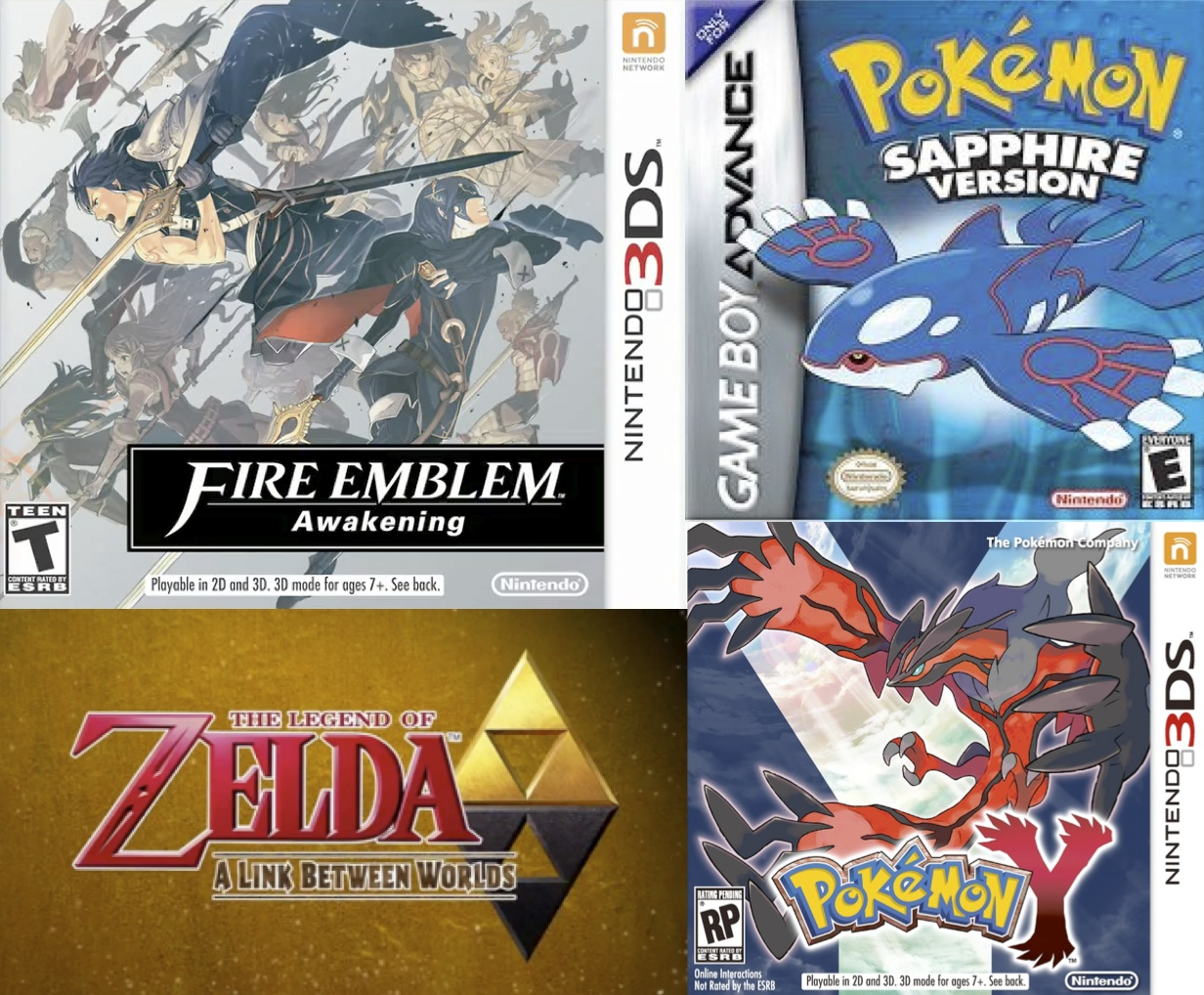 List: Baobab's Favourite Nintendo Console Games (1-8)   The